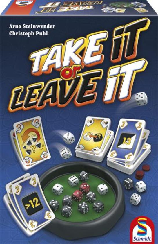 Take it or Leave it - Indoor Actiespel