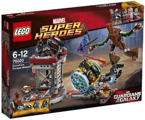 LEGO Super Heroes Knowhere Ontsnappingsmissie - 76020 in Popuelles