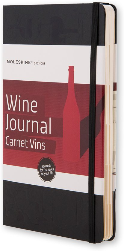 Moleskine Passions - Wine Journal