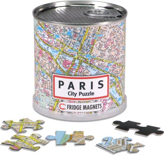 City Puzzle Parijs - Puzzel - Magnetisch - 100 puzzelstukjes in Willemsdorp