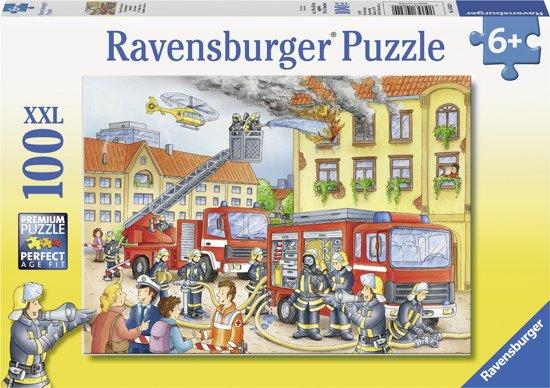 Ravensburger Brandweer - Puzzel van 100 stukjes in Wittebrink