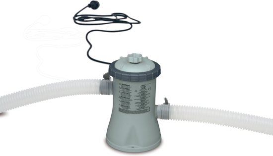 Intex zwembad filterpomp 12v 1250 l uur intex for Zwembad voor in de tuin met pomp