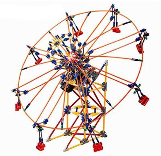 Zweefmolen met motor, nanoblocks, vergelijkbaar met mini knex* in Zeijerveld