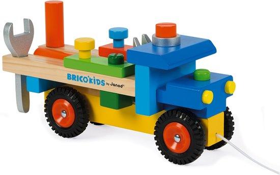 Janod Trekfiguur Vrachtwagen met Accessoires in Noordeinde