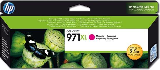 HP 971XL - Inktcartridge / Magenta / Hoge Capaciteit (CN627AE)