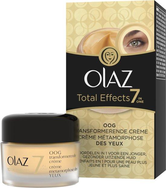 olaz total effects oogcreme