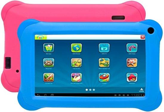 Kinder Tablet Denver TAQ-70212K - 7 inch - blauw en roze met Kido'z software