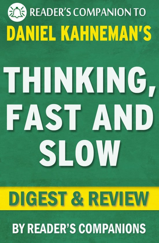 book review thinking fast and slow essay Understanding fast and slow thinking could help us find more  of the two  systems is a recurrent theme of the book, and a brief synopsis of the.