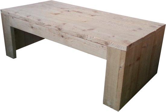 Loungetafel van steigerhout for Tuintafel steigerhout bouwpakket