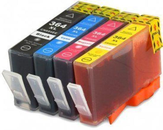 HP364 Compatible inkpatronen MediaHolland Set van 4 stuks XL