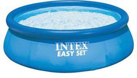 Intex easy set pool zwembad 366 x 91 cm for Zwembad rond 3 meter intex