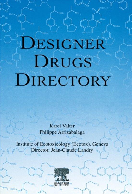 Designer Drugs Directory K Valter P
