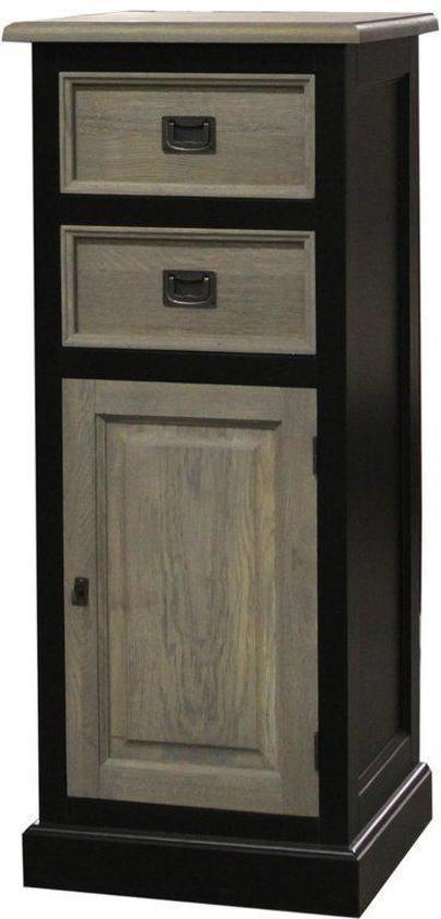 Eleonora norwich dressoir zwart hout wonen - Houtkleur zwart ...