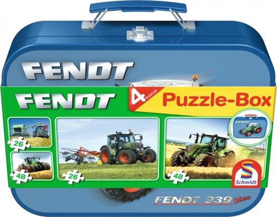 Schmidt 4-in-1 Puzzelbox - Fendt in Holterhoek