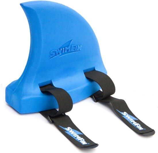 SwimFin zwemband - blauw | SwimFin maakt leren zwemmen leuk in Tronde