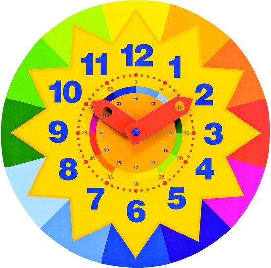 Learn Clock Look Sun in Triemen / De Trieme