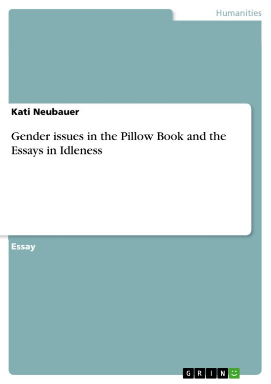 japanese essays on idleness