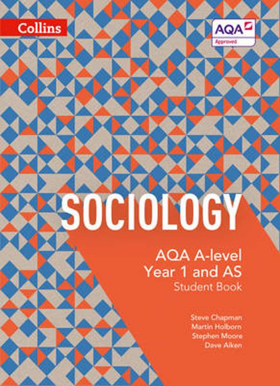 sociology alevel aqa A levels a level sociology (aqa) sociology requires the skills of critical  thinking as well as essay writing if you enjoy debate and have the skill to  translate this.