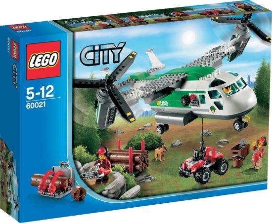 LEGO City Hefschroef Vrachtvliegtuig - 60021 in Middelburen