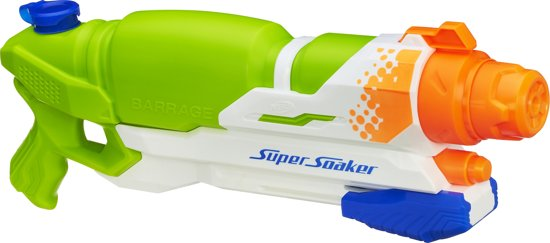 NERF Super Soaker Barrage - Waterpistool in Het Vonderen