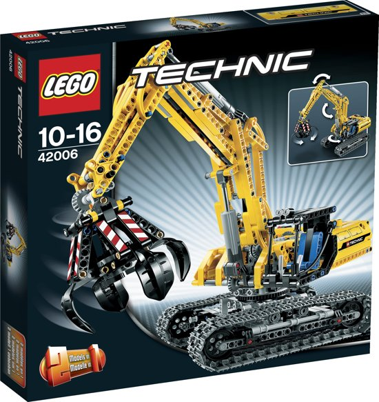 lego technic graafmachine 42006 lego. Black Bedroom Furniture Sets. Home Design Ideas