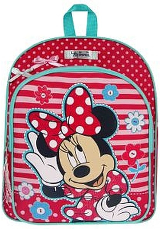 Minnie Mouse  - Rugzak - Kinderen - Rood/Roze in Woltersum