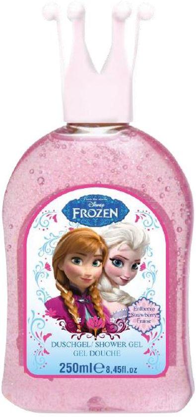 Frozen - 250 ml - Glitter badschuim in Ferwert / Ferwerd