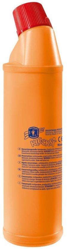 Klecksi Fles Vingerverf 900 Ml Oranje in De Hogert