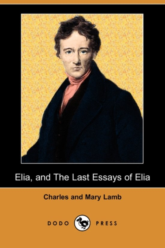 essays of elia charles lamb summary