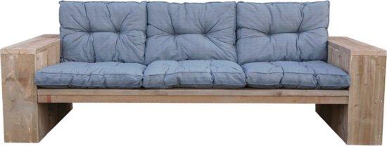 Goedkope loungebank met grijze kussens for Goedkope lounge kussens