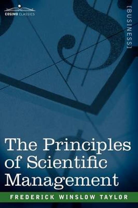 frederik taylor and scientific management essay