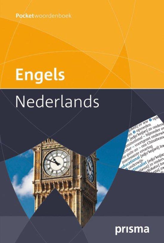 Prisma pocketwoordenboek Engels-Nederlands in Hoeve