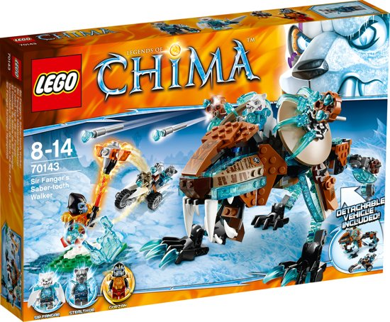 LEGO Chima Sir Fangars Sabeltand Walker - 70143 in Veldwezelt