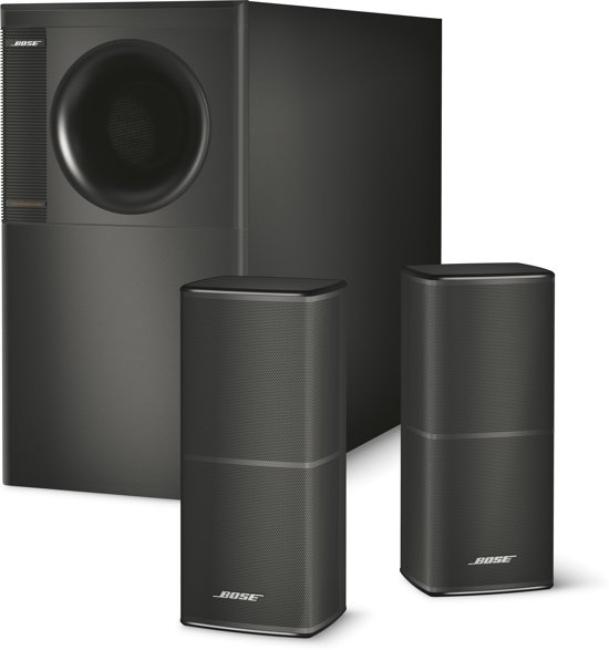 bose acoustimass 5 serie v 2 1 speakerset zwart. Black Bedroom Furniture Sets. Home Design Ideas