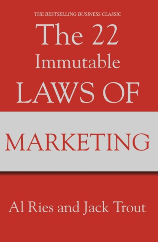 immutable laws marketing review The 22 immutable laws of marketing in asia has 12 ratings and 2 reviews moinak said: for anyone in marketingignore even a.