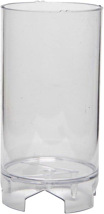 Kaarsen gietvorm, afm 107x62 mm, Rond, 1 stuk in Vlaas