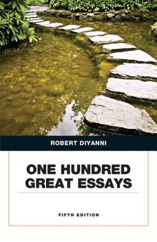 50 great essays robert diyanni