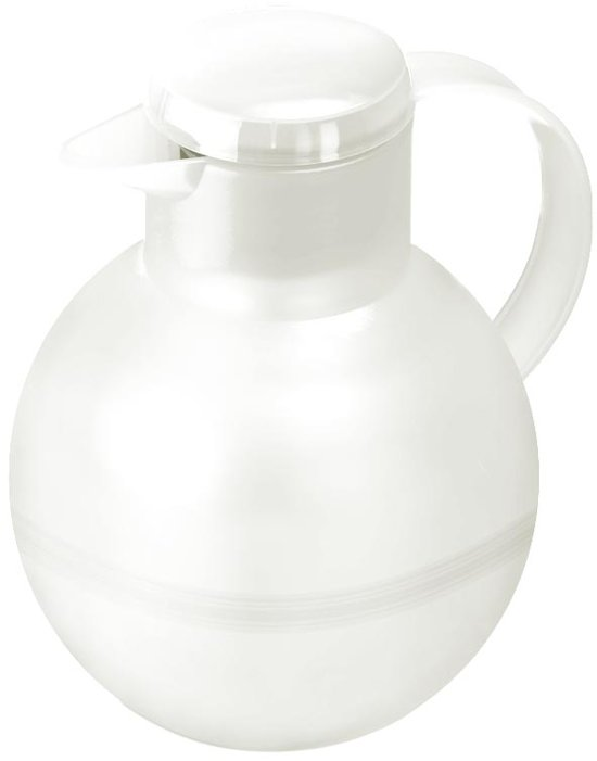 SAMBA TEA isoleerkan. schroefdop. 1.0L wit translucent in Ridderbuurt