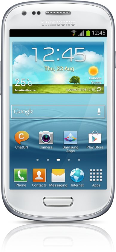 Samsung Galaxy S3 Mini - Wit