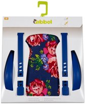 Widek - Qibbel Luxe Stylingset voor Achterzitje - Blossom Roses Blauw