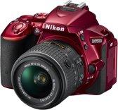Nikon D5500 + 18-55mm VR II - Spiegelreflexcamera - Rood