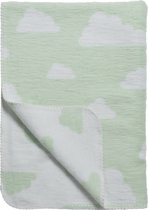 Meyco deken Little Clouds mint 120x150 cm
