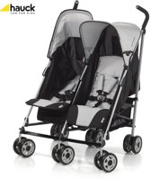 Hauck - Turbo Duo Buggy - Zwart