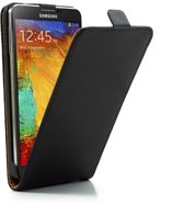 JavuCase - Samsung Galaxy Note 3 - Business Flip Case Hoesje Zwart