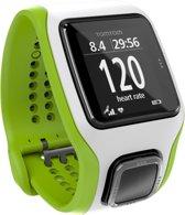 TomTom Multi-Sport Cardio - GPS Sporthorloge - wit/groen
