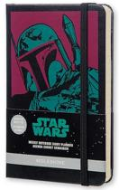 Moleskine 2015-2016 Star Wars Limited Edition Weekly Notebook, 18m, Pocket, Black, Hard Cover (3.5 X 5.5)