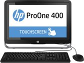 HP ProOne 400 21.5i Touch AIO Intel Core i3-4160 4GB DDR3-1600 500GB Optical Disc Drive Windows 8.1 Pro 1/1/1