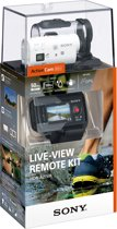 Sony HDR-AZ1VR met Wi-Fi - Action Camera - Remote Kit