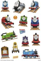 Stickers Thomas De Trein 3 vellen