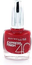 Maybelline Express Finish - 505 Cherry - Rood - Nagellak